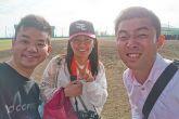 沖縄ローカル芸人しんとすけの「首里石嶺」が「楽天女子の田中さん」の久米島野球キャンプ参戦をお手伝い!